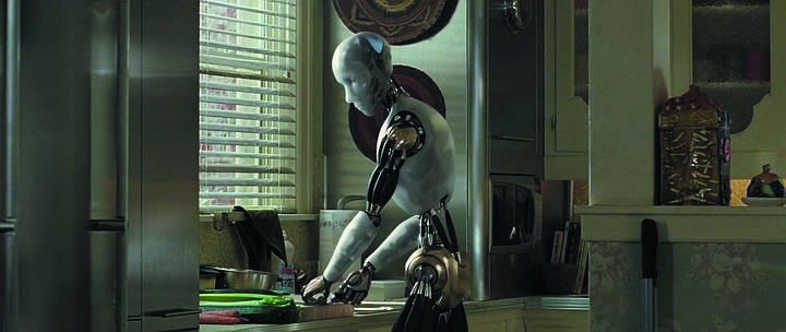 AI I-Robot-Cooking